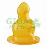 BABY NOVA savička latex tvarovaná čaj č.2 2ks