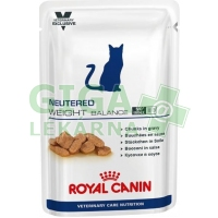 Royal Canin VET Early Cat Neutered Weight Balance kapsička 12x100g