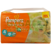 PAMPERS SleepPlay Maxi 7-14kg 50ks