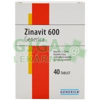 Zinavit 600 cucavé tablety 40ks Generica