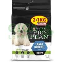 PRO PLAN Puppy Large Robust 2+1kg zdarma