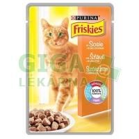 Friskies cat kaps. ve Šťávě s kuřetem 100g