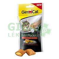 Gimcat Nutri pockets losos a omega 3+6 60g
