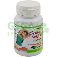 Green Coffe + Spirulina 60 tobolek