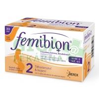 Femibion 2 s vit.D3 bez jódu tbl.30 + tob.30