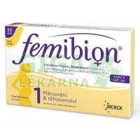 Femibion 1 s vit. D3 bez jódu 30 tablet