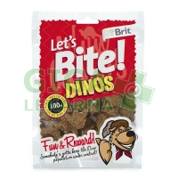 Brit Care DOG Let´s Bite Dinos 150g