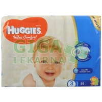 Huggies Ultra Comfort Jumbo 3 5-8kg 58ks