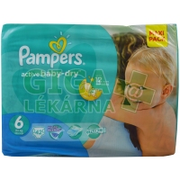 PAMPERS Active Baby VPP Extra Large 15+ kg 42ks