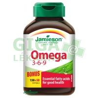 JAMIESON Omega 3-6-9 1200mg tob.150+50