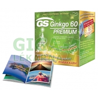 GS Ginkgo 60 Premium tbl.90+30 dárek 2016
