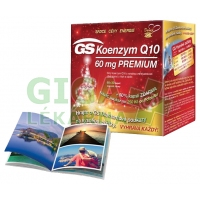 GS Koenzym Q10 60mg Premium cps.60+30 dárek 2016