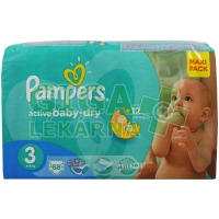 PAMPERS Active Baby VPP Midi 4-9kg 68ks