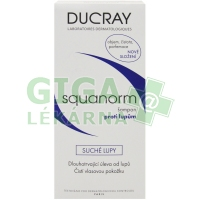 DUCRAY Squanorm Suché lupy Šampon proti lup.200ml