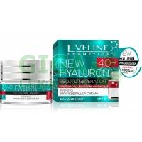 EVELINE BIO Hyaluron 4D day+night cream 40+ - 50ml