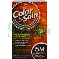 Color & Soin 5M - Světle mahagonová hnědá 135ml