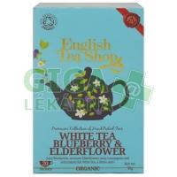 English Tea Shop Bílý čaj s bezinkou a borůvkou BIO 20s.