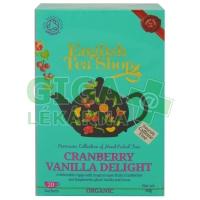 English Tea Shop Bio Potěšení z Brusinek a Vanilky Čaj 20s.
