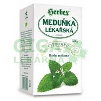 HERBEX Meduňka lékařská 50g