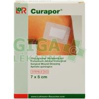 Obvaz na rány Curapor samolepící sterilní 7x5cm 5ks