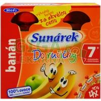 Sunárek Do ručičky banán 4x90g