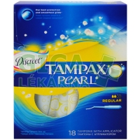 DH tampóny Tampax Pearl regular 18ks