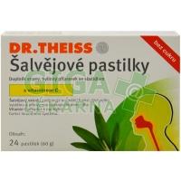 Dr.Theiss Šalvějové pastilky bez cukru 24ks