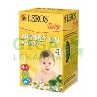 LEROS BABY Dětský čaj bylinný 20x1.8g