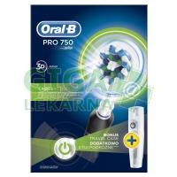 Oral-B El.kart. PRO750 Black Box (D16) + pouzdro