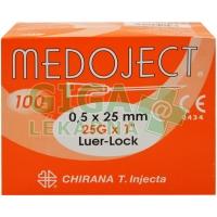 Injekční jehla 0,5x25 oranžová Chirana 100ks