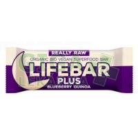Lifefood Lifebar tyčinka BIO borůvky quinoa 47g