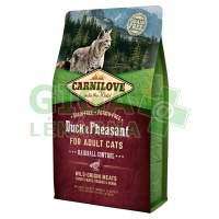 Carnilove Cat Adult Duck & Pheasant Grain Free 2kg