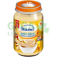 Hami svačinka jablka s piškoty 190g