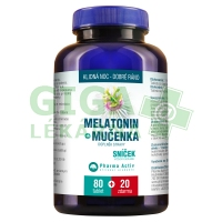 Melatonin Mučenka 100 tablet