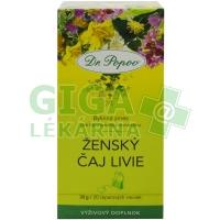 Čaj Ženský Livie 20x1,5g Dr.Popov