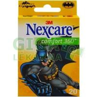 3M Nexcare Dětská náplast Batman Comfort 360° 20ks