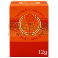 Thajská tygří mast Golden Cup balm 12g