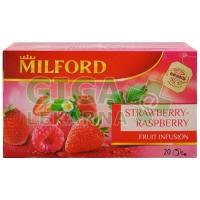 MILFORD Family ovocný čaj Jahoda/malina 20x2.25g n.s