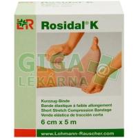 Obinadlo elastické Rosidal K 6cm x 5m