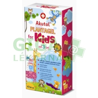 AKUTOL Plantagel for Kids gel 20ml