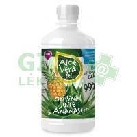 Aloe vera gel s ananasem 500ml Virde