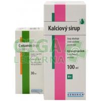 Kalciový sirup 100ml AKCE + C vitamin drops ZDARMA