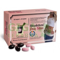 Bioaktivni Duo Slim 60 kapslí + 30 tablet