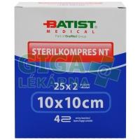 Sterilkompres NT 10x10cm/4 vrstvy 25x2ks