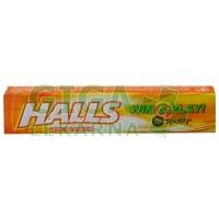 HALLS menthol med a citrón 32g