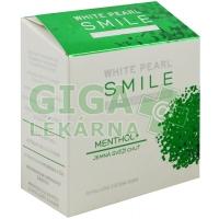 White Pearl SMILE Mentol 30g bělící zubní pudr