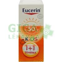EUCERIN SUN Dětské mléko na op. SPF50 1+1 ZDARMA