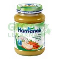 Hamánek krůta s gratinovanou zeleninou a rýží 190g