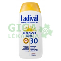 LADIVAL OF30 gel alergická kůže 200ml