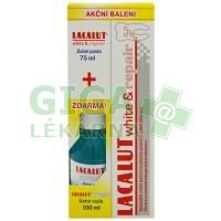 Sada Lacalut white&repair + ústní voda white 100ml 1 sada